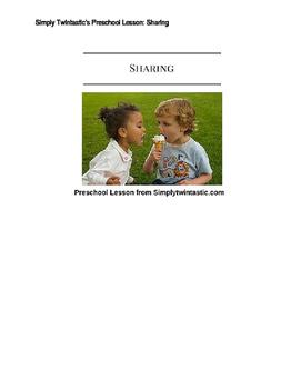Preschool Lesson Sharing