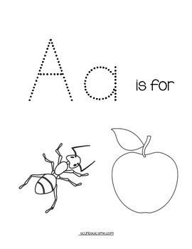 Preschool Letter A Activity Pack