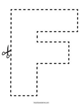Preschool Letter F Activity Pack