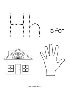 Preschool Letter H Activities