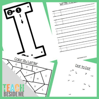 Preschool Letter I Activity Pack