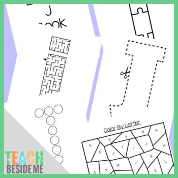 Preschool Letter J Activity Pack