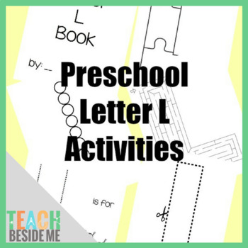 Preschool Letter L Activity Pack