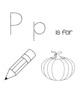 Preschool Letter P Activities
