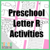 Preschool Letter R Activity Pack