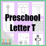 Preschool Letter T Activity Pack