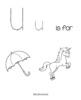 Preschool Letter U Worksheets and Activities