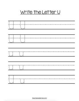 preschool letter u worksheets and activities by karyn teach beside me. Black Bedroom Furniture Sets. Home Design Ideas