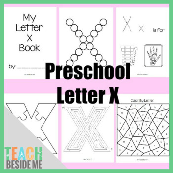 Preschool Letter X Activity Pack