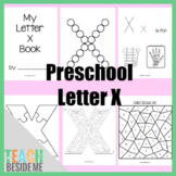 Preschool Letter X Activity Pack