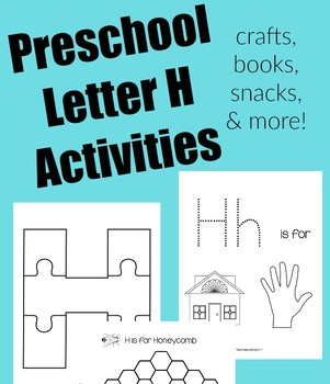 Preschool Letter of the Week Bundle: Letters G-L