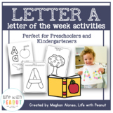 Preschool Letter of the Week - Letter A Activities