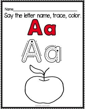 Preschool Letters