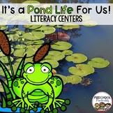 Pond Life Preschool Literacy Centers