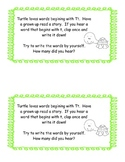 Preschool Literacy Homework