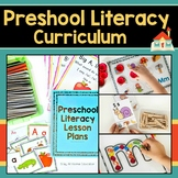 Preschool Literacy Lesson Plans Bundle