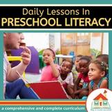 Preschool Literacy Lesson Plans Bundle