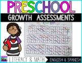 Preschool Literacy & Math Growth Assessments   Spanish & English
