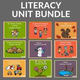 Preschool Literacy Units BUNDLE