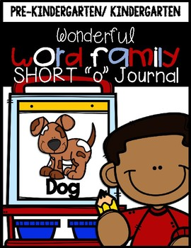 Wonderful Word Family Journal (Short O)