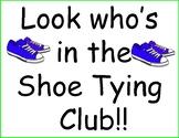 Preschool Look Who Club Positive learning reinforcement Zip Tie Address Phone