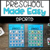 Preschool Made Easy Curriculum | Sports Theme
