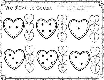 Preschool Madness: Loving Math