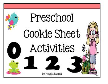 Preschool Cookie Sheet Activities