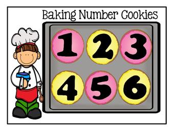 Preschool Center - Cookie Sheet Activities