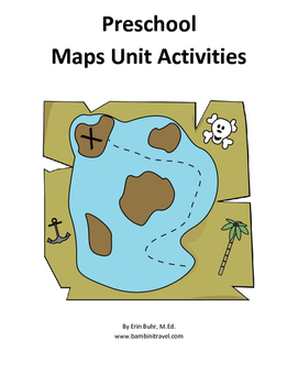 Preschool Maps Unit