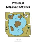 Preschool Maps Unit