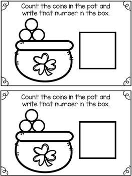 Preschool March Math Journal