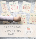 Preschool Matching Numbers Game