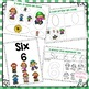 Preschool Math-#6, Ovals, and sorting by attribute-Scarecrow Theme