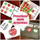Preschool Math Activities with An Apple Theme