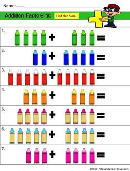 Preschool Math | Addition Facts