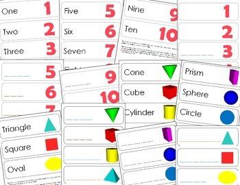 Preschool Math Bundle