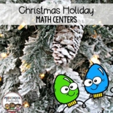 Christmas Preschool Math Centers
