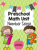 Preschool Math Centers - Number Sense Activities