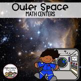 Preschool Math Centers {Outer Space}