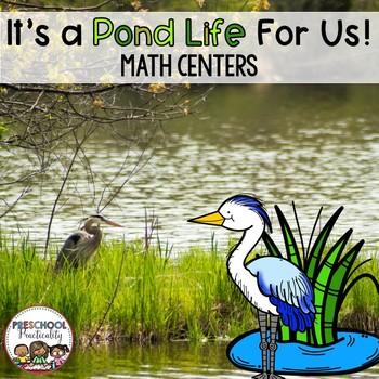 Pond Life Preschool Math Centers