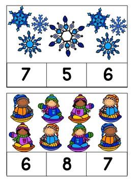 Preschool Math Clip Games