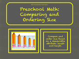 Preschool Math: Comparing and Ordering Size