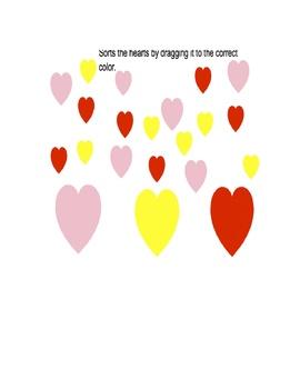 Preschool Math Heart Activity Pack