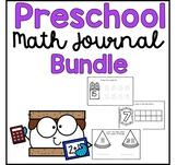 Preschool Math Journal Growing Bundle