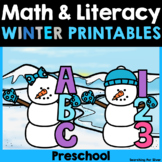 Preschool Math & Literacy Printables