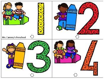 Preschool Math, Literacy, and MORE set