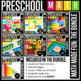 Preschool Math: Math Made Fun! The Bundle!