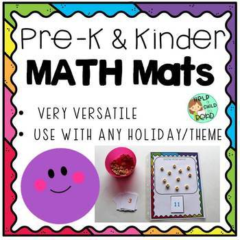 Preschool & Kindergarten Math Mats