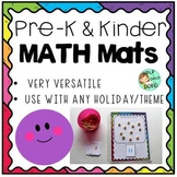 Preschool & Kindergarten Math Mats